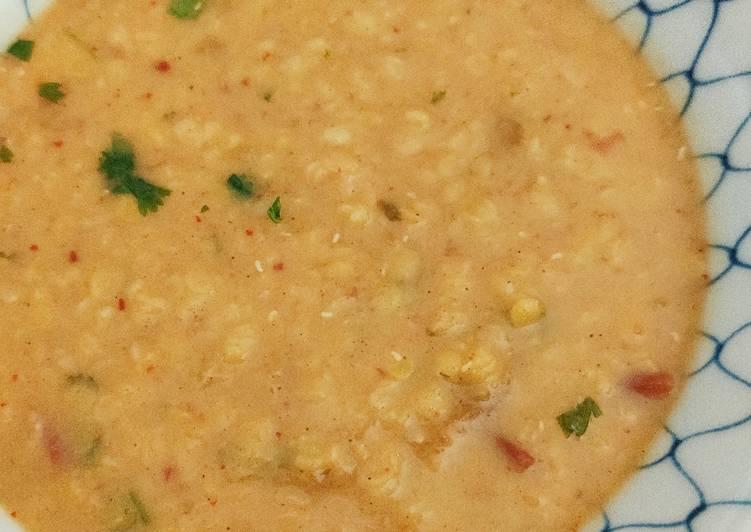🌺 Soupe lentilles tomate aux epices