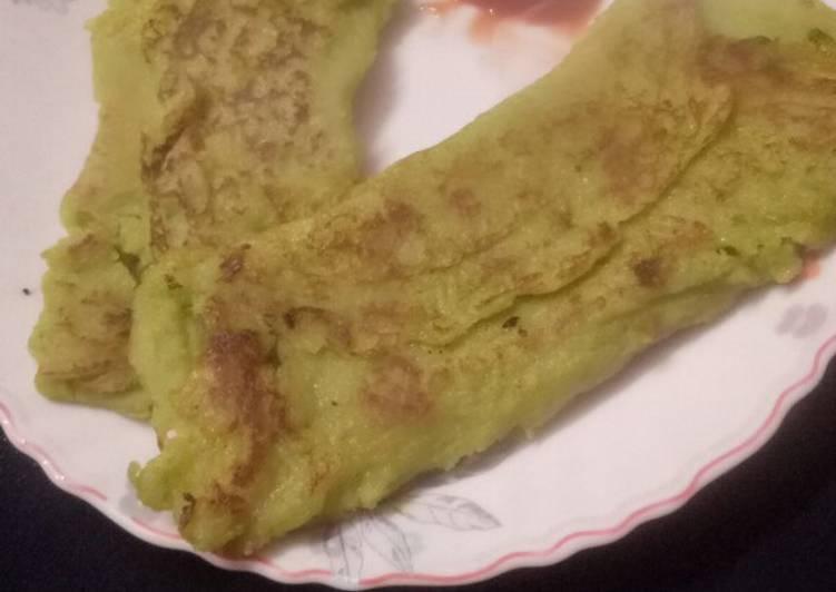 Green Peas Dosa