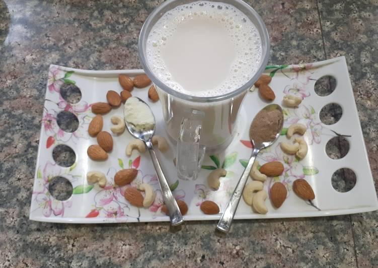 Masala milk/