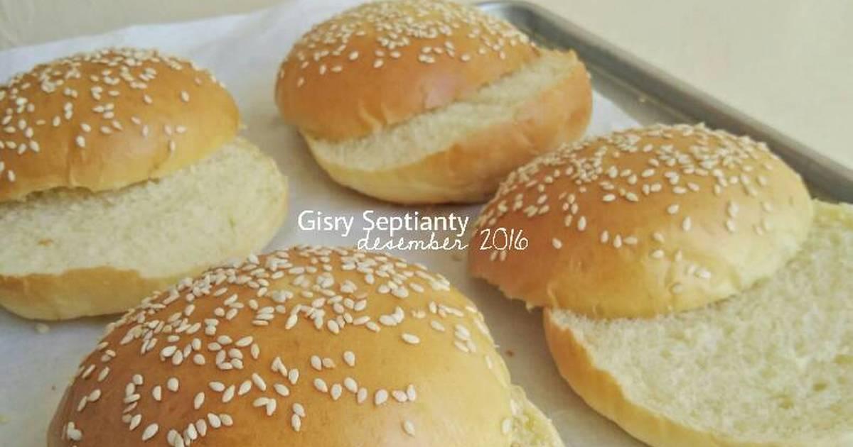 Roti Burger Empuk / Burger Buns #recommended