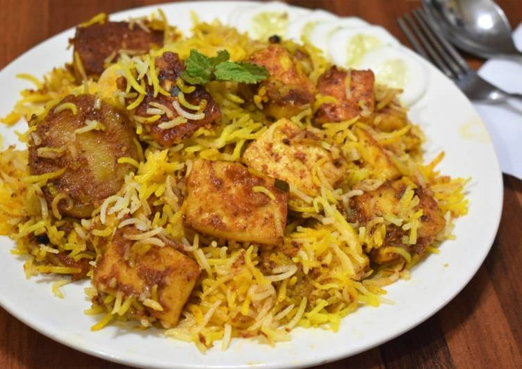 Paneer Biryani (No Onion/garlic)