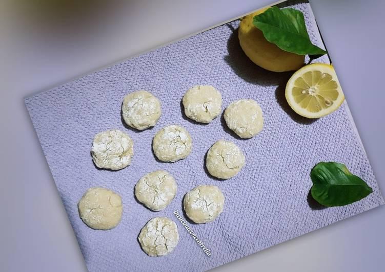 Ricetta Biscotti al limone 🍋