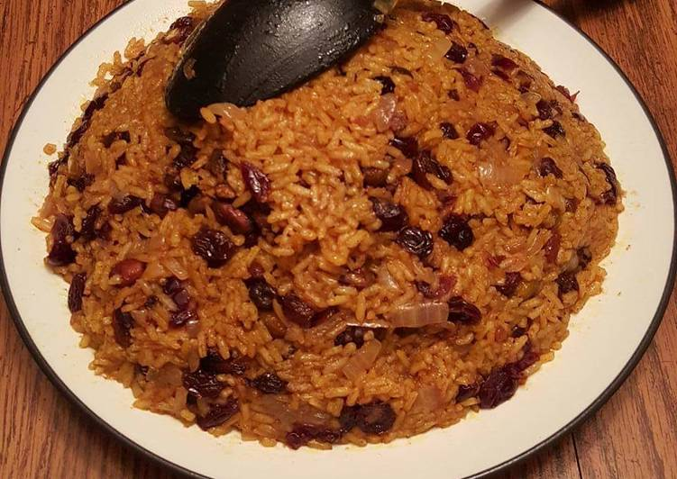 Simple Way to Prepare Super Quick Homemade Persian Jeweled Rice