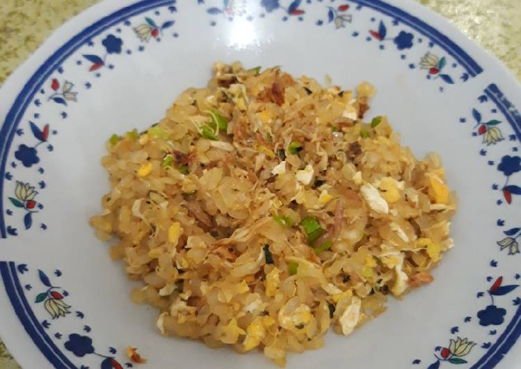 Nasi Goreng Shirataki