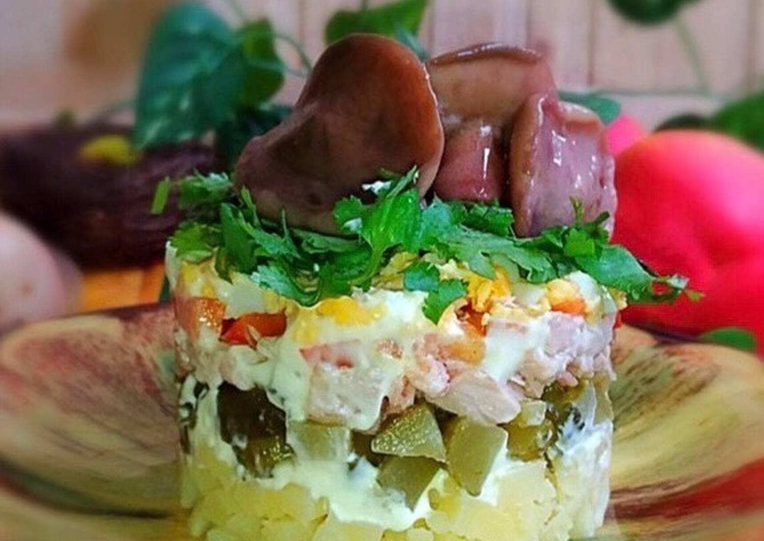 бастилия, где рецепт смачного салату фото кроме спален