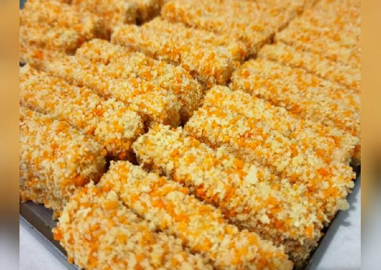 makanan Nugget Ayam Wortel Keju Anti Gagal