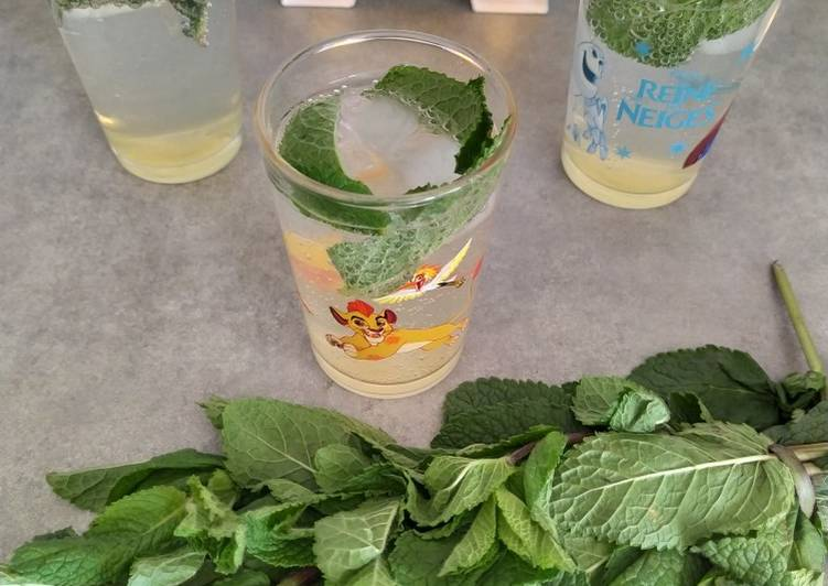 Easiest Way to Make Perfect Boisson fraîche menthe/citron