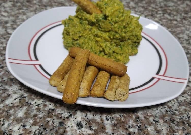 Hummus de espinaca :)