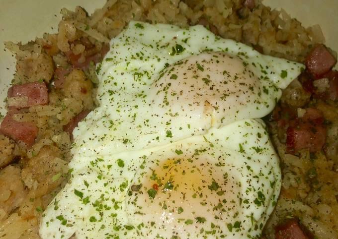 Spicy breakfast skillet