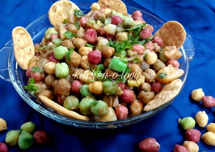 How to Make Tasty Rainbow Chana Chaat