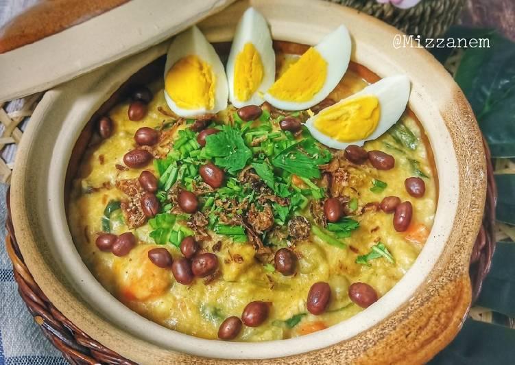 Bubur Asyura Banjar (Bubur Nasi Istimewa) - resepipouler.com
