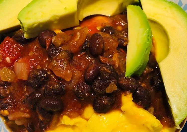 Best Comfort Dinner Ideas Homemade Quick Black Bean Breakfast Bowl