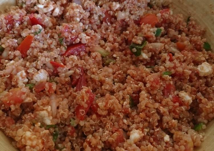 Saladede fraîcheur au quinoa