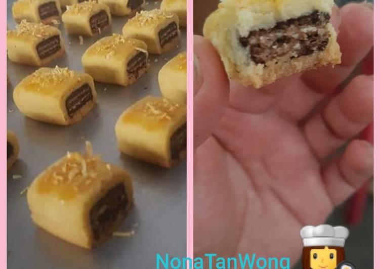 9. Tim Tam waffer Cookies