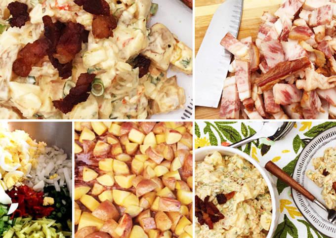 Wagyu Beef Bacon and Roasted Potato Picnic Salad