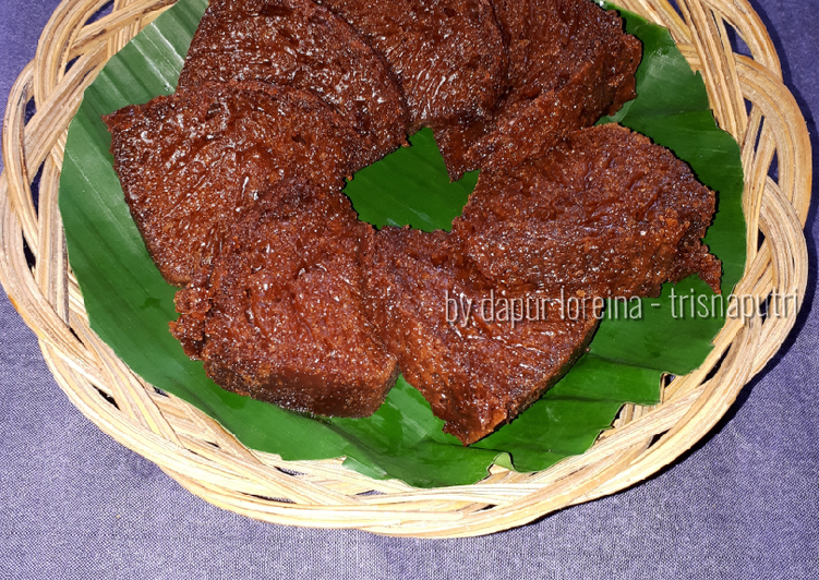 resep masak Bolu Karamel / Kue Karamel / Kue Sarang Semut simple anti gagal - Sajian Dapur Bunda