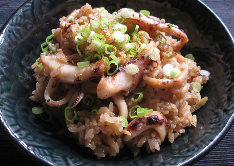 How to Make Favorite Squid 'Okowa' Steamed Glutinous Rice