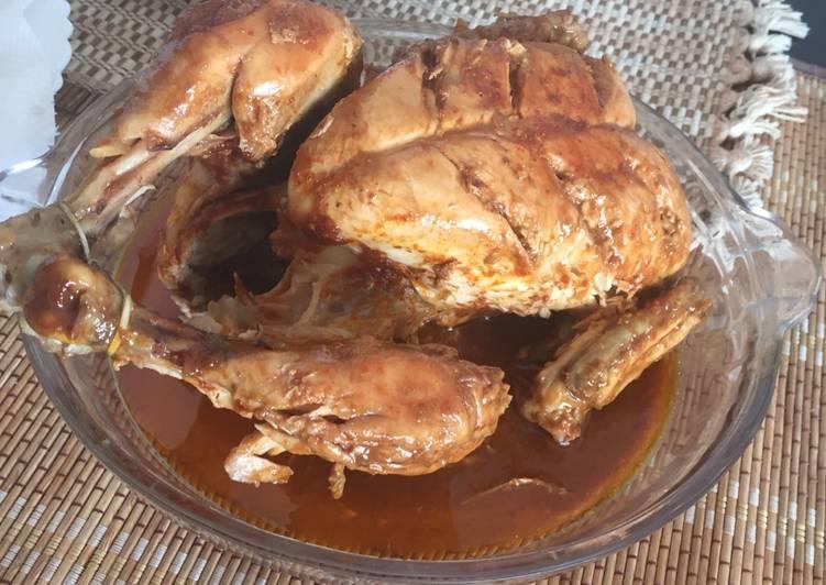 How to Prepare Speedy Red Chilli Chicken Roast