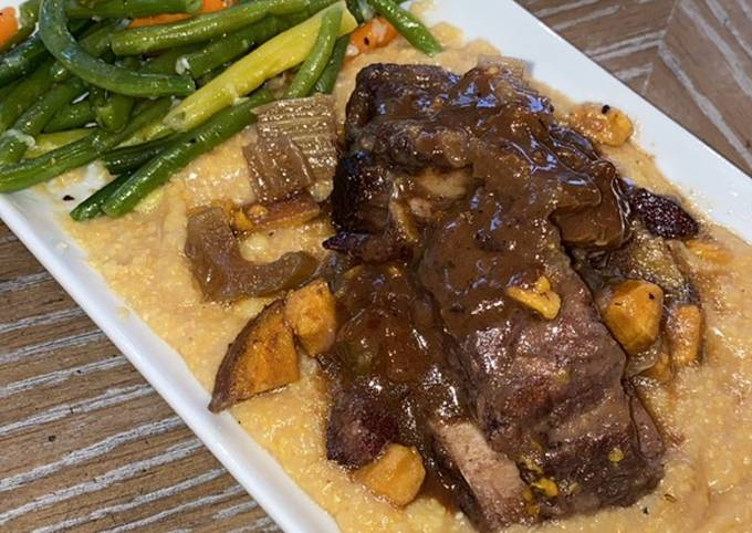 Red Wine Braised Shortribs