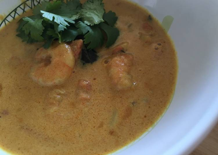 Prawn Curry (medium spicy) Finding Nutritious Fast Food