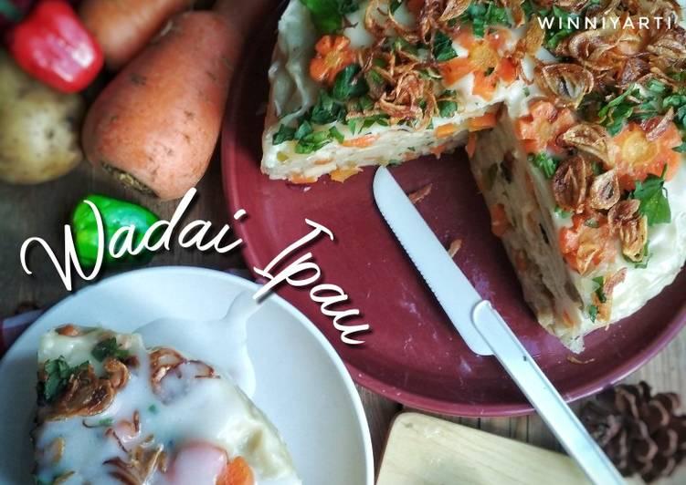 Resep Wadai Ipau Oleh Winniyarti Ummu Lazha Cookpad