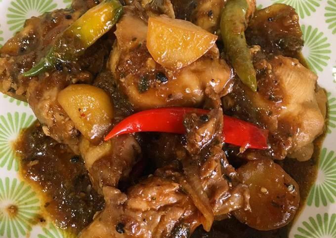 Ayam Masak Black Pepper