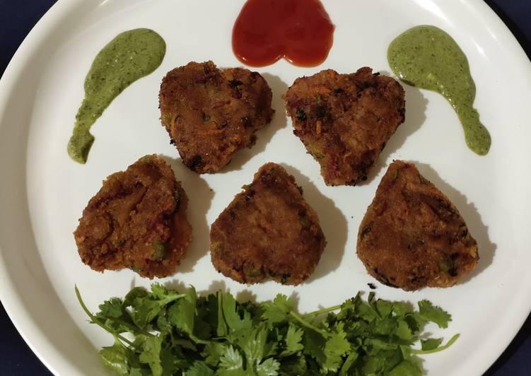 Steps to Make Perfect Veg hearts