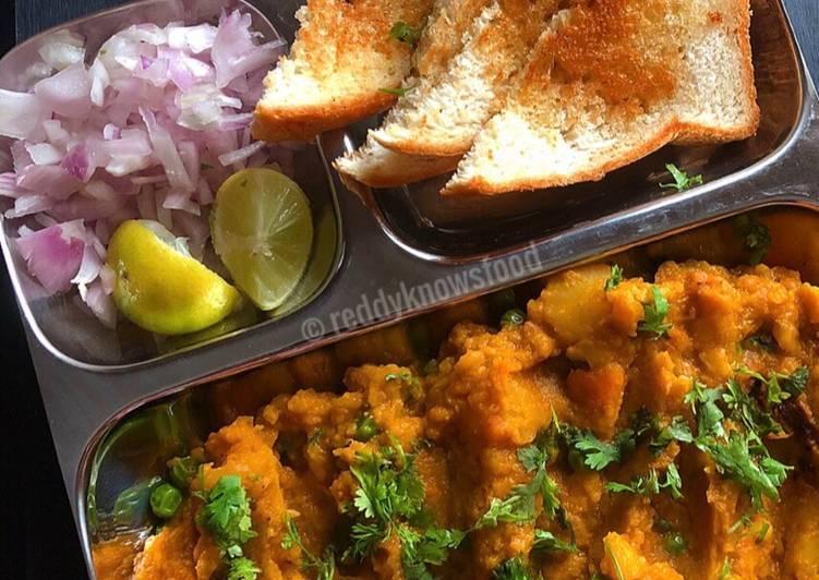 Vegan Bread Bhaji