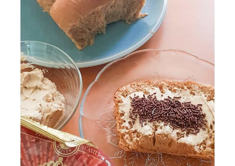 73.Roti Sobek Kopi Mocca+Buttercream Kopi 🤤☕🍞
