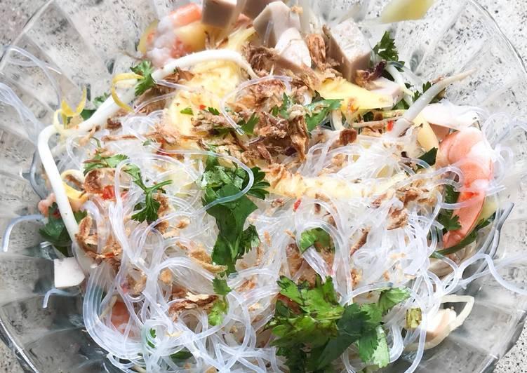 Recette: Savoureux Salade fraîche aux touches asiatiques