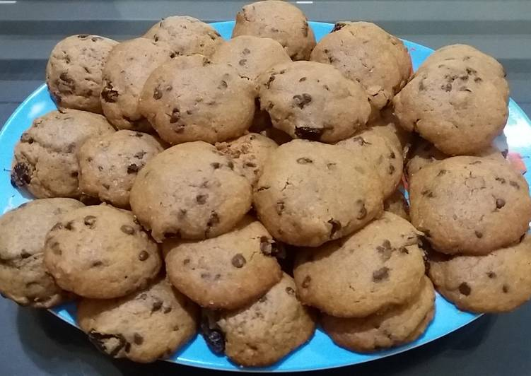 173. Chewy chocochips cookies / monster cookie