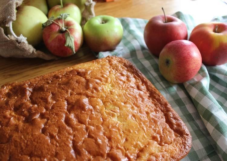 Clafoutis aux pommes léger