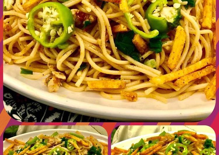 Easiest Way to Prepare Super Quick Homemade Spaghetti masala (khaosay ki Akni)💟