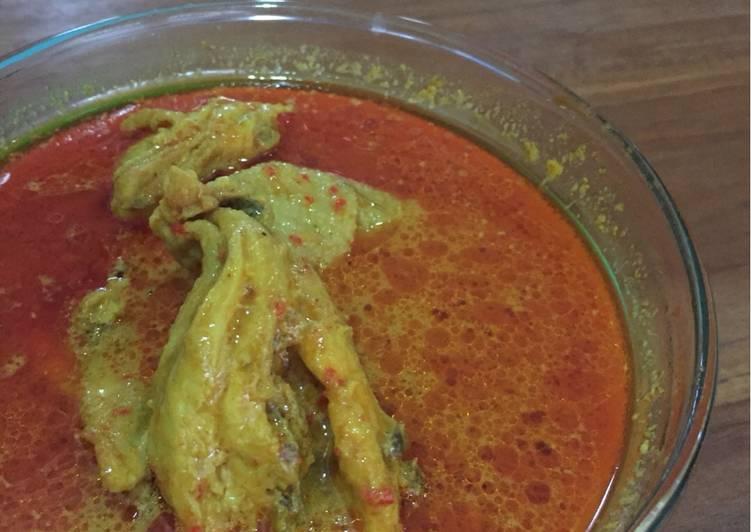 Lontong Kari Ayam Bandung