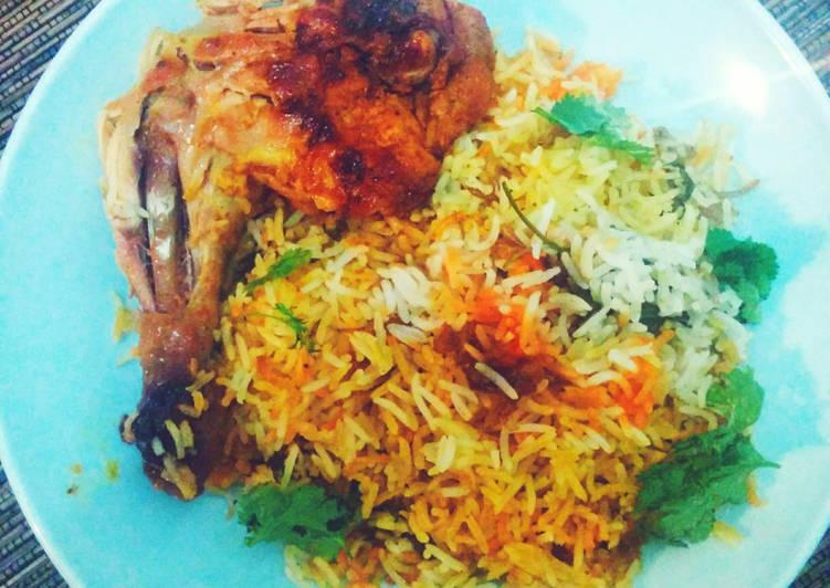 #7 Nasi Biryani Ayam | Menu Lebaran #siapramadhan