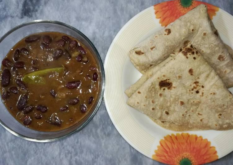 Rajma with Roti Choosing Healthy and balanced Fast Food