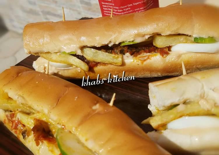 Recipe of Perfect Liver baguette