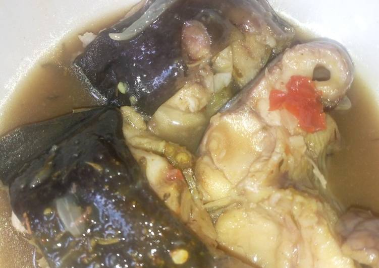 How to Make Homemade Catfish pepper soup