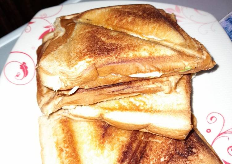 Simple Way to Prepare Quick Stuffed Toasted bread