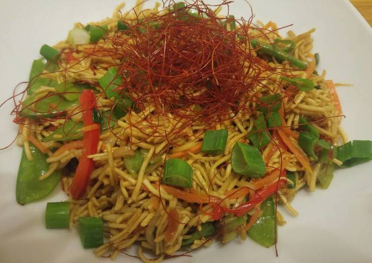 Veggie Packed Chow Mein