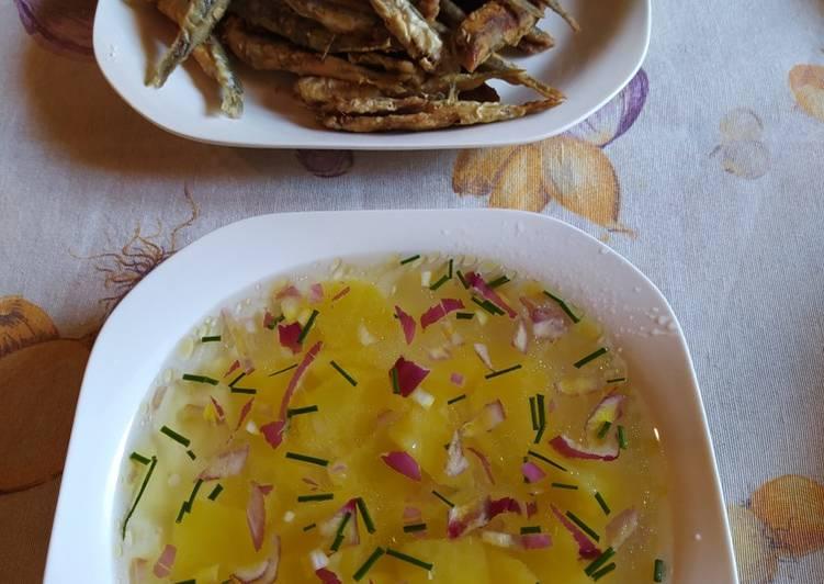 Sopa fría de patata