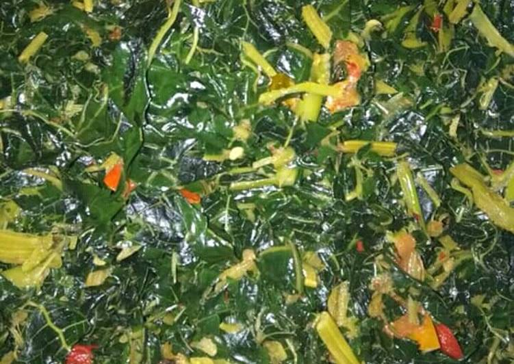 Oseng daun pepaya