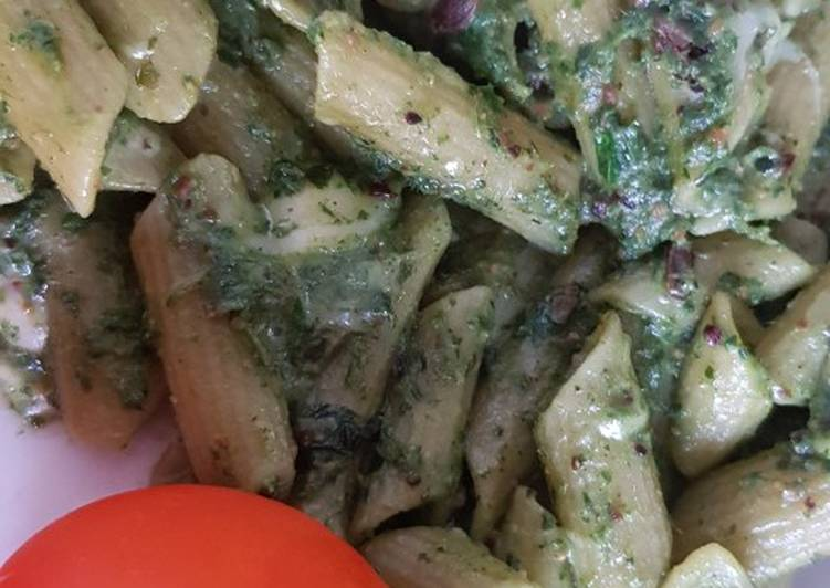 Nettle and mint pesto