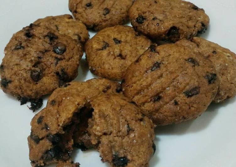 Choco milo crunchy cookies ala Abdillah fam