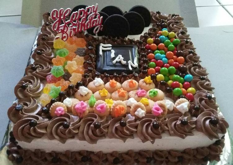 Resep Kue Ulang Tahun Ceria Oleh Dapur Antika Cookpad