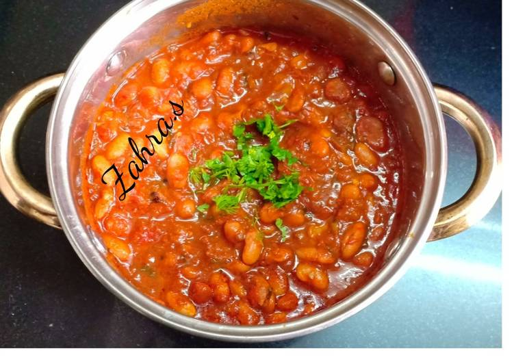 Fresh Rajma curry Choosing Healthy Fast Food