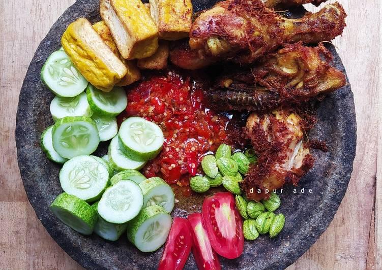 Sambal Ayam Geprek 3 Bahan