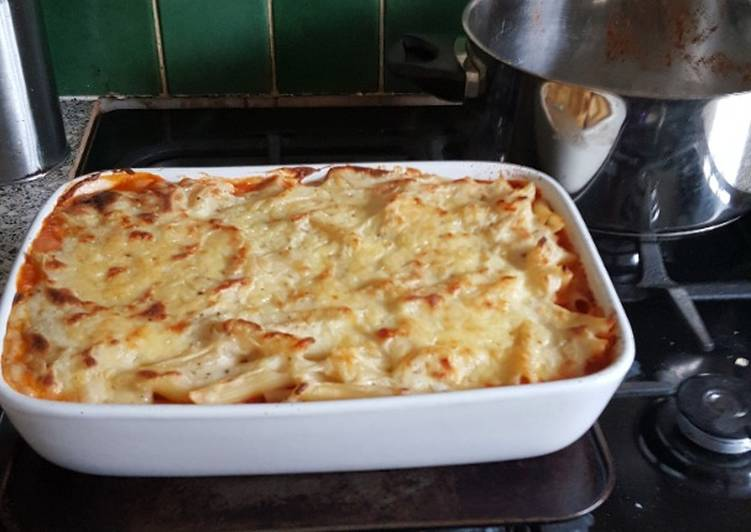 Easiest Way to Make Quick Pork Mince and Pasta Bake