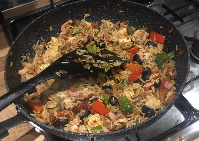 Saturday night Special Fried Rice