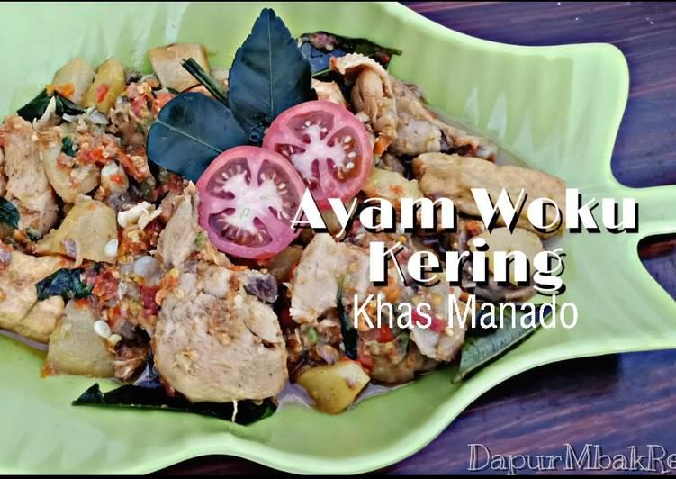Ayam Woku Kering Khas Manado foto resep utama